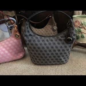 Dooney And Bourke navy hobo